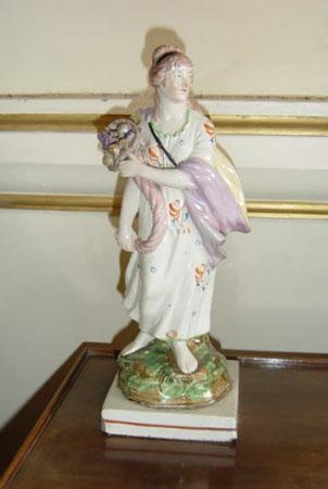 Lady holding a Cornucopia