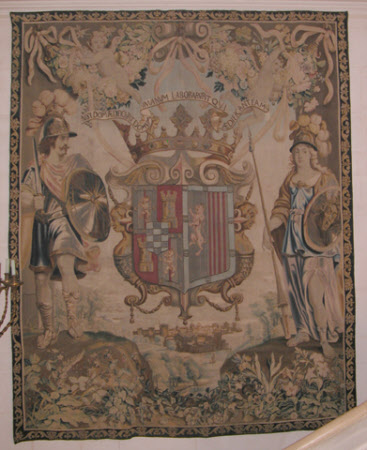 Portière with the Arms of Don Luis de Benavides, Marqués de Caracena