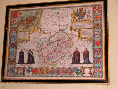 Map of Cambridgeshire