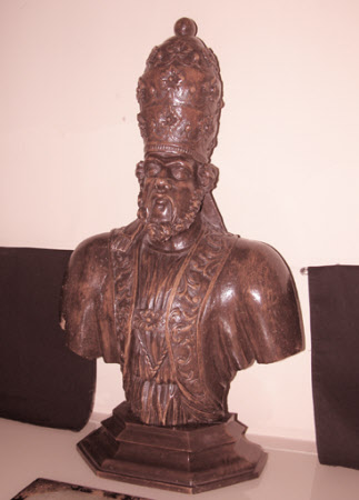 A Pope, possibly Leo XI