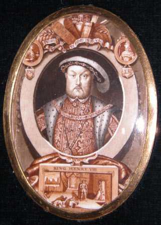 King Henry VIII (1491–1547) (after George Vertue after Hans Holbein the younger)
