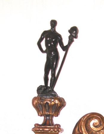 David, maquette for the Machine Gun Corps Memorial