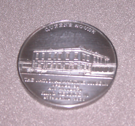 Commemoration medal for the opening of the National Maritime Museum