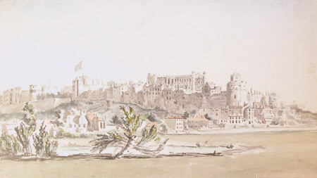 Windsor with some of the Old Houses c.1795