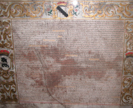 Patent roll concerning Baron Ratcliffe