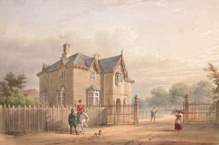 Head Keeper's Lodge, on the road from Windsor (after Henry Bryan Ziegler)