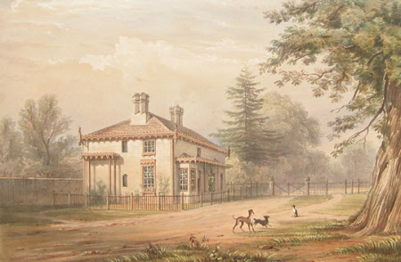 Keeper's Lodge, Bishop's Gate, Windsor (after Henry Bryan Ziegler)