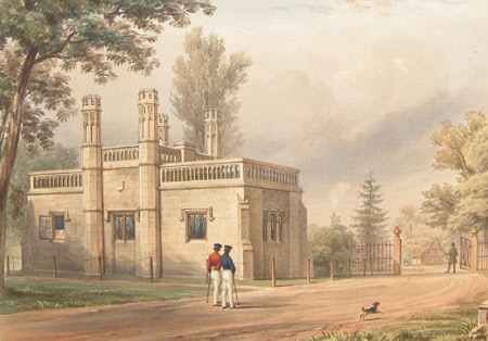 Keeper's Lodge, Blacknest Gate, Windsor (after Henry Bryan Ziegler)