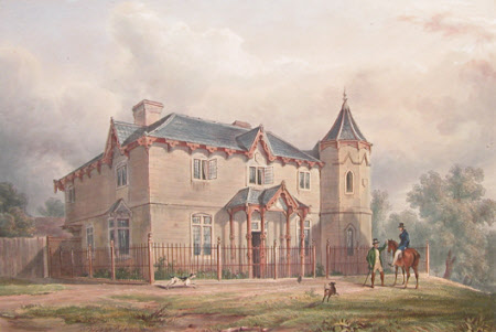 Keeper's Lodge on the Windsor Road, Windsor  (after Henry Bryan Ziegler)