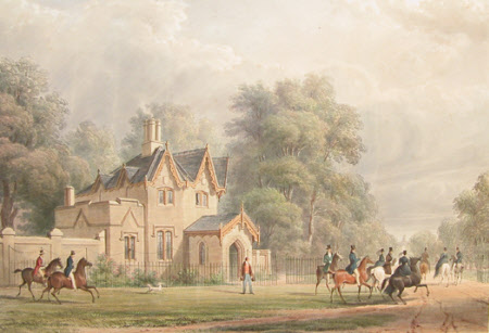 Windsor Forest, A Lodge, (after Henry Bryan Ziegler)