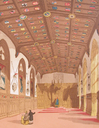 St George's Hall, Windsor Castle, 1865