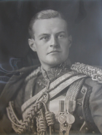 Huttleston Rogers Broughton, 1st Lord Fairhaven, (1896-1966) in the dress uniform of the Royal Life ...