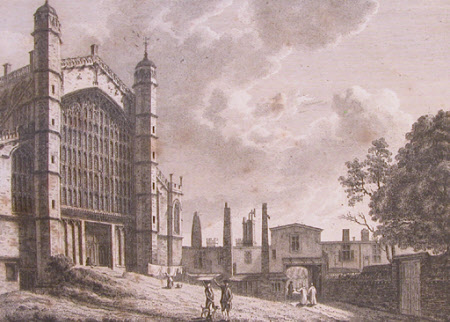 North West View of St George's Chapel at Windsor (after Paul Sandby)