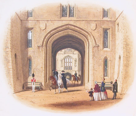 Windsor Castle - Gateway to Clock Tower