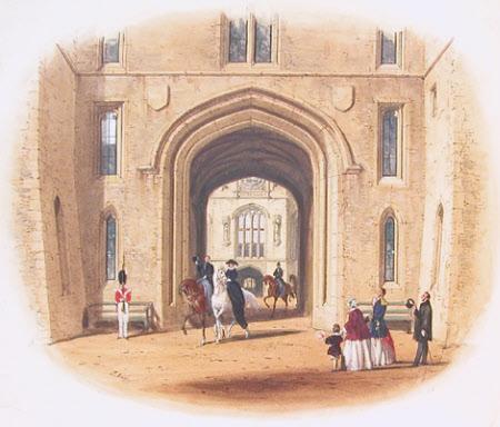 Windsor Castle - Gateway to Clock Tower