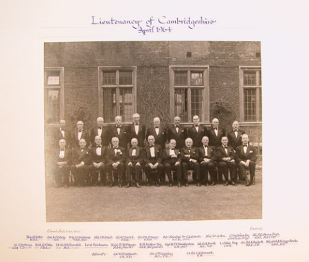 Lieutenancy of Cambridgeshire (Huttleston Rogers Broughton, 1st Lord Fairhaven, (1896-1966) seated ...