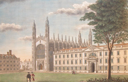 A View Of King 39 S College And Part Of Clare Hall In The University Of Cambridge 513988 National