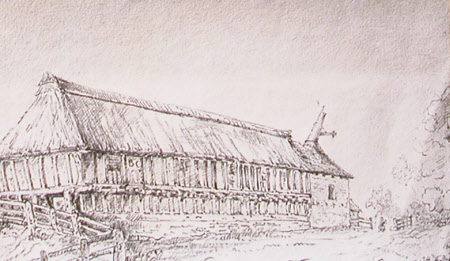 View of a Barn