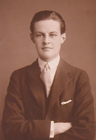 Huttleston Rogers Broughton, 1st Lord Fairhaven (1896-1966) as a young man