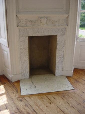 Chimneypiece, Banqueting House, Melford Hall
