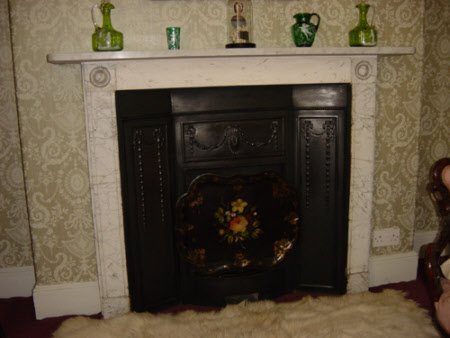Chimneypiece, West Bedroom, Melford Hall