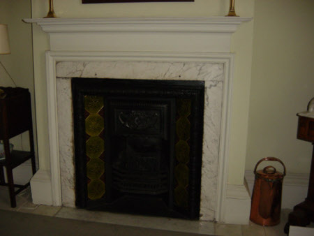 Chimneypiece, Dressing Room, Melford Hall
