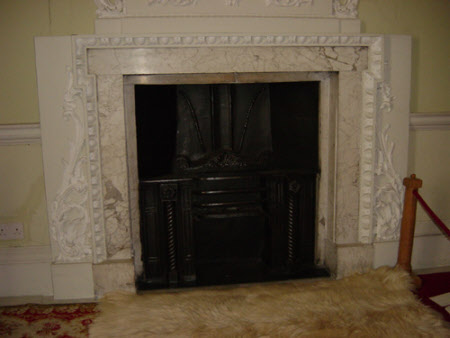 Chimneypiece, North Bedroom, Melford Hall