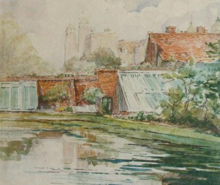 Melford Hall's Ancient Fish Pond