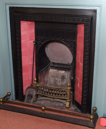 Chimneypiece, Master Bedroom, Max Gate