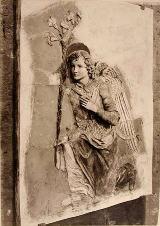 The angel of the annunciation
