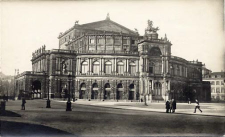 The Opera House, Dresden