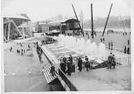 Festival of Britain, 1951, fountains, South Bank, London