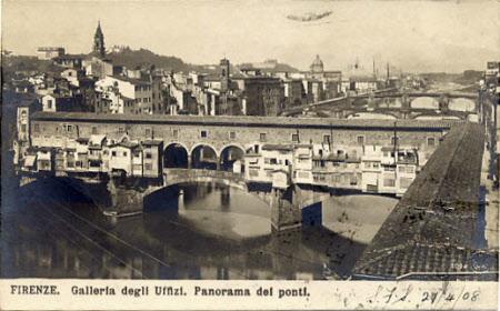 The Ponte Vecchio and the Vasari Corridor, Florence