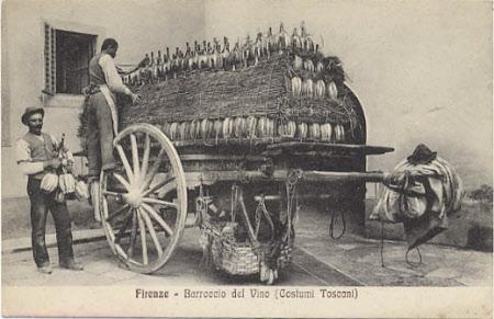 Firenze - Barraccio del Vino (Costumi Toscani)