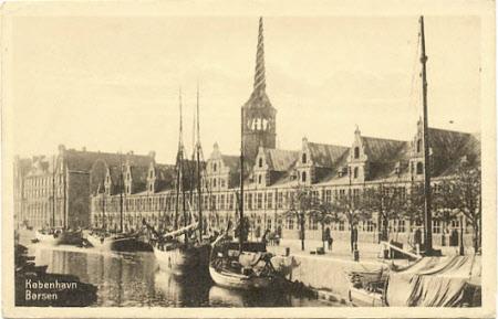The Stock Exchange - Borsen - Copenhagen