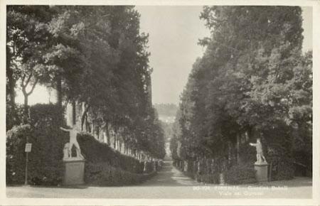 The Cyprus Avenue, Boboli Gardens, Florence