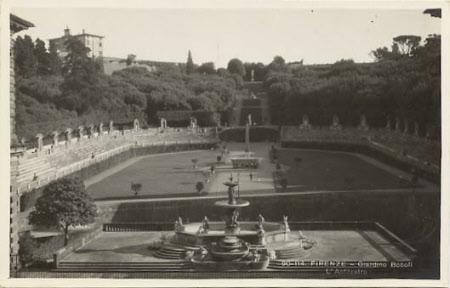 The Amphitheatre, Boboli Gardens, Florence