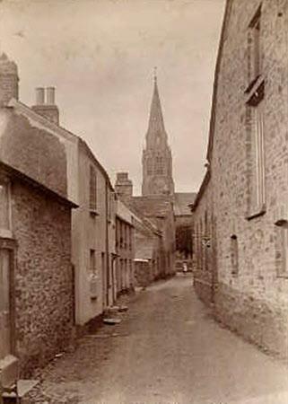 Lostwithiel and Church, Cornwall