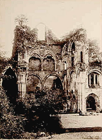 Netley Abbey, near Southampton, Hampshire