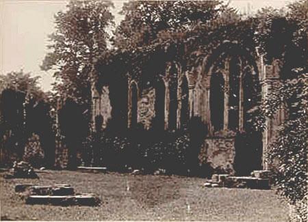 Netley Abbey, near Southampton, Hampshire.