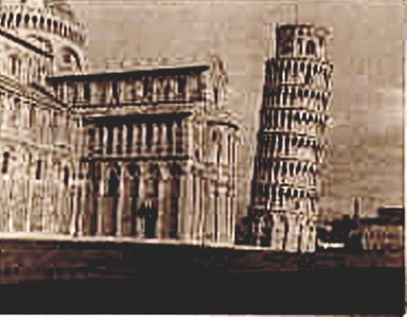 The Cathedral and Campanile or Leaning Tower, Pisa