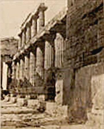 Temple of Poseidon or Neptune, Paestum, Italy