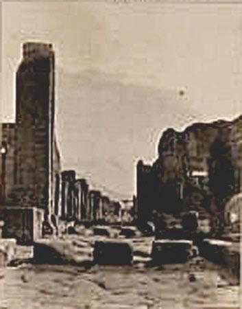 Via dell Abondance. Pompeii, Italy