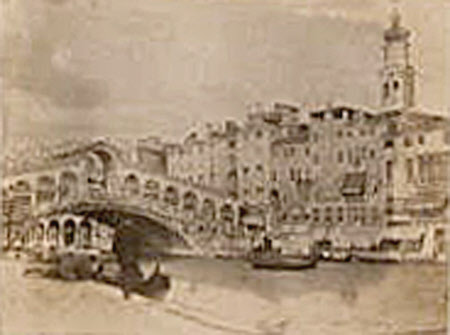 The Rialto Bridge, Grand Canal, Venice