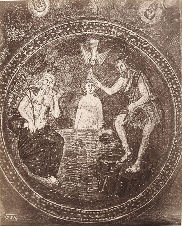 Mosaic: The Baptism of Christ, Baptistry of the Arians, Ravenna