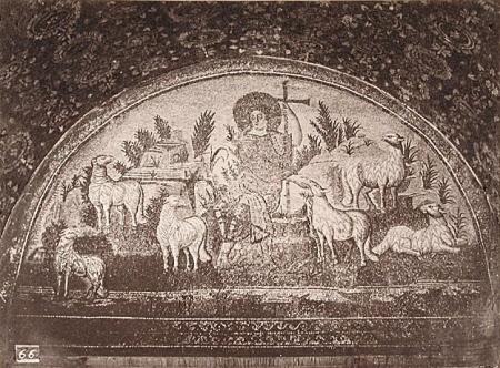 Mosaic: The Good Shepherd, Mausoleum of Galla Placidia, Ravenna