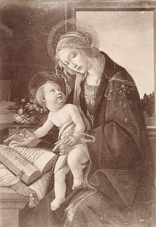 Madonna and Child (after Sandro Botticelli)