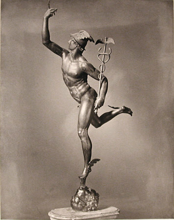 Mercury by Giambologna, Museo Nazionale, Palazzo del Bargello, Florence
