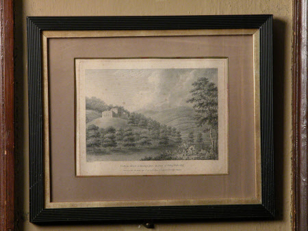 Dyffryn Alled The seat of Philip Yorke Esq., Denbighshire (after Moses Griffith)