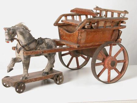 Toy farm cart